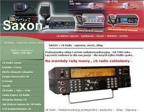 saxon.waw.pl CB Radio Warszawa